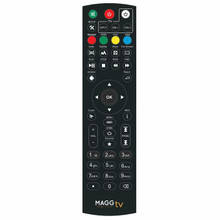 Get a replacement remote for your MaggTV media streaming device and get back to the unlimited streaming action at your fingertips!  Fully functioning replacement remote that matches the one that came with the MaggTV media streaming box. Compatible with Ultra HD 4K media streamers. Easy to connect and simple to navigate.