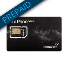 Inmarsat 2,500 Unit Prepaid SIM Card