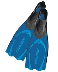 Cressi Pluma Blue Fins