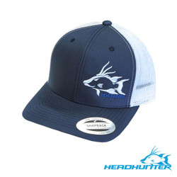 HeadHunter Hogfish Snapback - Navy/White