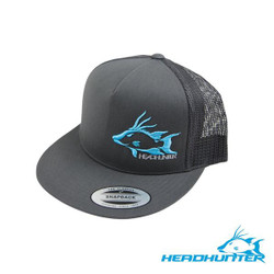 HeadHunter Hogfish Snapback Flat - Gray