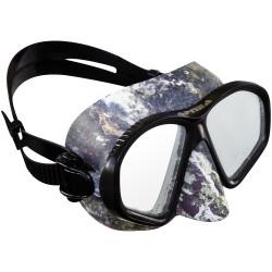 Apnea Camo Mask - Gray