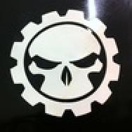 Toothless Gear Skull Overlay