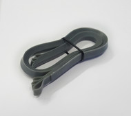 Metallic Silver - 1/2 cm