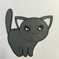 Killer Kitty Kat - Halloween Patch