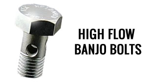 High Flow Banjo Bolts