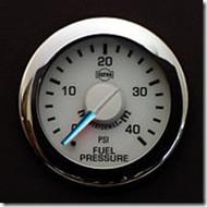 Electronic Fuel Pressure Gauge 0-40 PSI R13055 - ISSPRO EV2