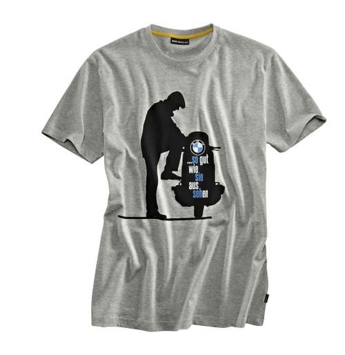 T-shirt BMW heritage heren
