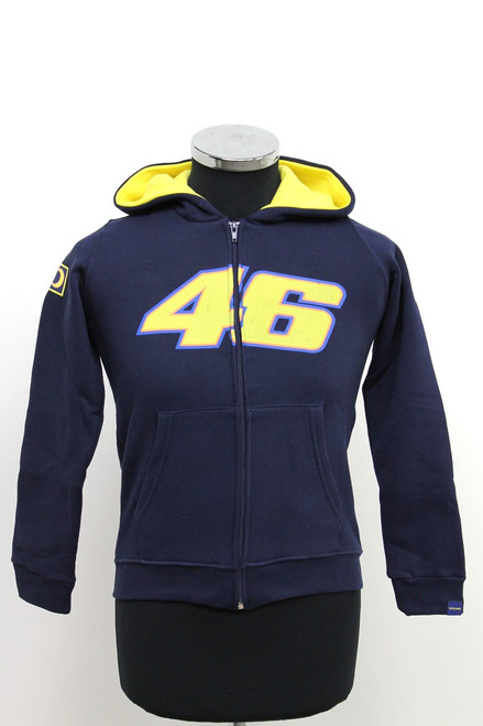 Jas Dainese VR46 Rossi Hooded Zip Kid2