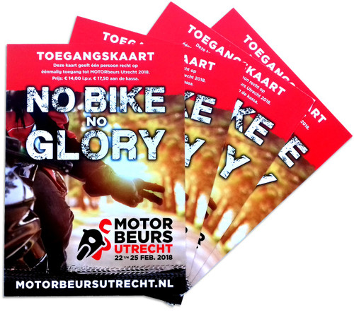 Toegangskaarten MOTORbeurs Utrecht 2018