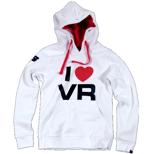 Sweater Dainese VR46 Rossi Hooded lady