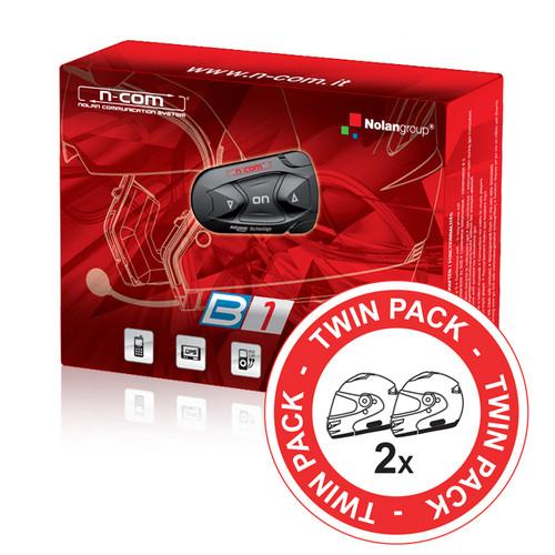 Nolan N-com Bluetooth B1 DUO voor o.a. N103 & N43