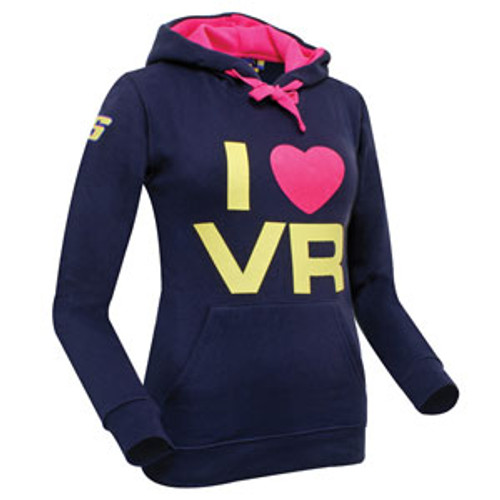 Sweater Dainese VR46 Rossi Hooded lady 1