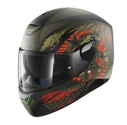 Helm Shark Skwal Switch Riders Mat