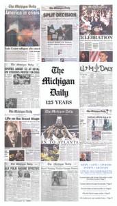 Michigan Daily 125th Anniversary Commemorative Edition