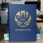 The 2015 Michiganensian features graduates from Fall 2014 and Winter 2015.  * If you'd like to avoid the shipping fee, please contact us at http://michiganyearbook.com/contact about picking up your book from our office in Ann Arbor.