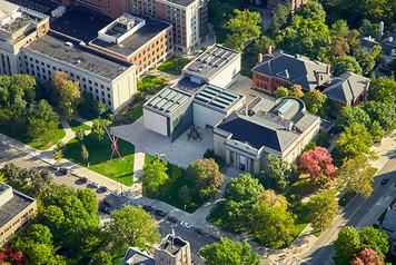 University of Michigan Campus - Aerial - 3