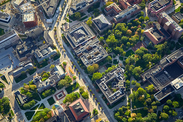 University of Michigan Campus - Aerial - 4