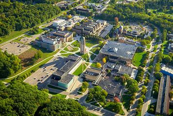 University of Michigan Campus - Aerial - 6