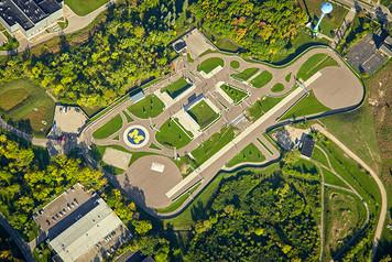 University of Michigan Campus - Aerial - 7