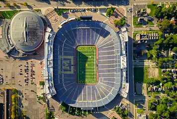 University of Michigan Campus - Aerial - 9