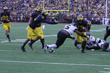 2016 Michigan Football vs Central Florida - 11