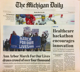 Michigan Daily - Buy This Edition