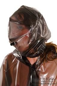 Hood, elasticated with pipe HO10
