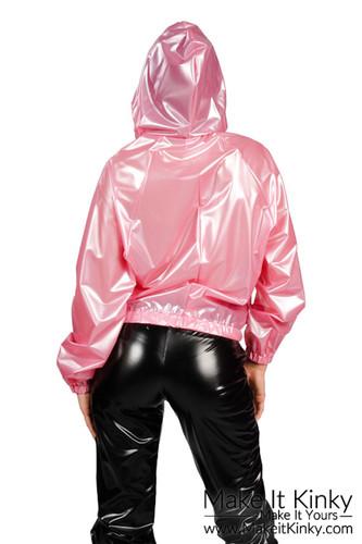 Bomber Jacket Hooded Ja01 Make It Kinky