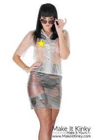 Knee length skirt SK05