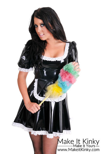 French Maid Dress Ladies Waitress Outfit Un17 Make It