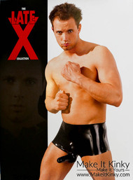 Latex Boxer Briefs with Sheath -IN STOCK-