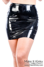 Latex Mini skirt SK19