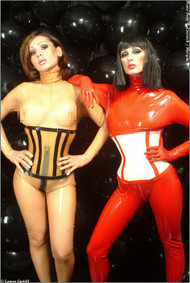 Rubber Corset -IN STOCK-