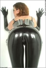 Sexy Latex Leggings -IN STOCK-