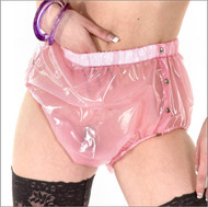 PVC Pants with Poppers -IN STOCK-