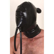 Latex Inflatable Hood with Nose Tubes -IN STOCK-