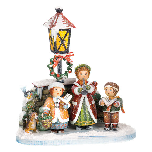 Joy And Noel Holiday Caroler: CHRISTMAS CAROLERS LIMITED EDITION FIGURINE