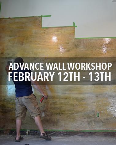 Advanced Wall Epoxy Workshop with Countertop Epoxy