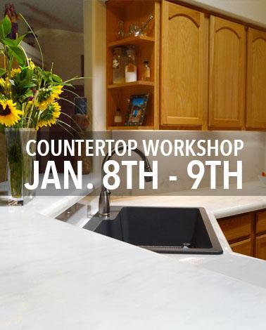 Countertop Epoxy Resin Workshop with Countertop Epoxy