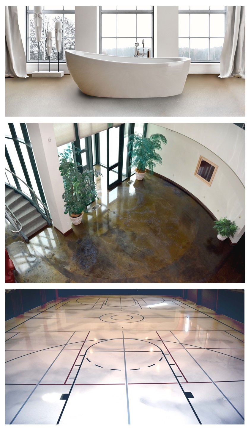 Epoxy Flooring Home Business Commercial