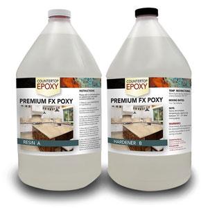 fx poxy premium countertop epoxy