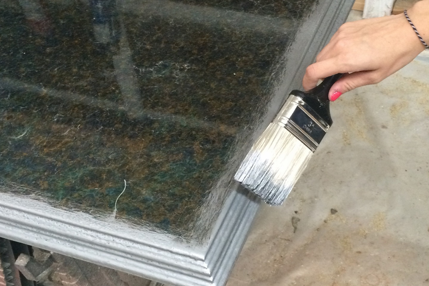 Instructions for mixing FX Poxy and applying to countertops