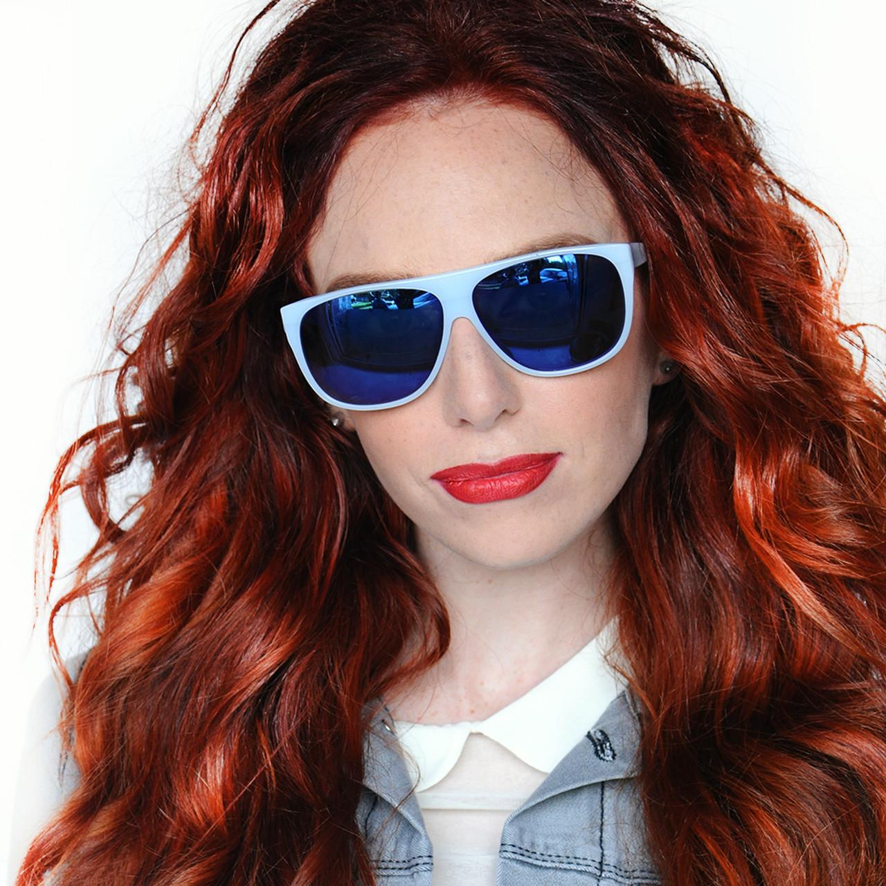 NERDS Style Maxim Sunglasses Mirror Lenses