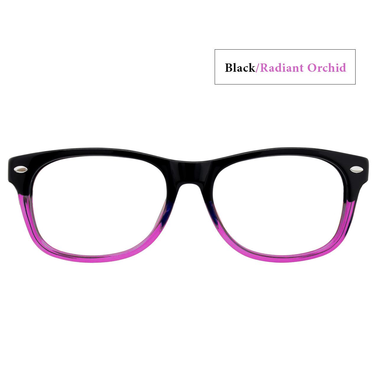 Black/Radiant Orchid