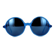 Sunglasses With Blue Mirror Lenses
