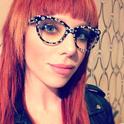 GEEK Couture Style Flower Eyeglasses