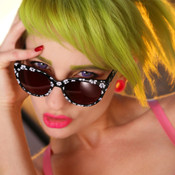 GEEK Couture Style Flower Sunglasses