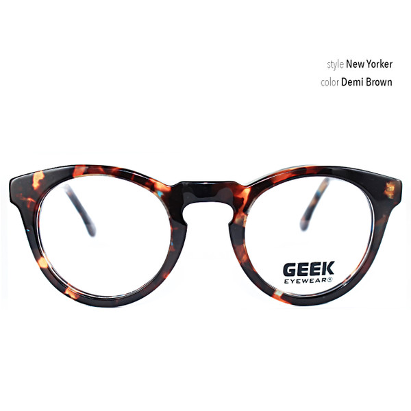 geek glasses style New Yorker