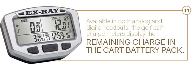golf cart charge meter quote